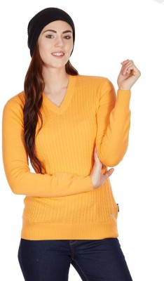 American Swan Round Neck Solid Women's Pullover