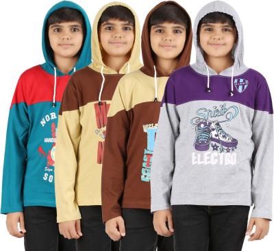 Zippy Round Neck Printed Boy's Pullover