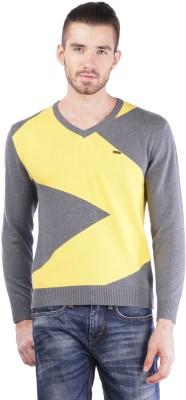 TSAVO V-neck Argyle Men's Pullover