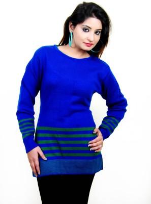 Laadli Ji Round Neck Self Design Women,s Pullover