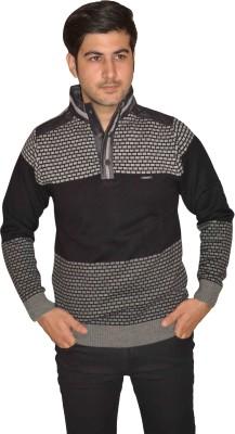 Fasholic Round Neck Checkered Men's Pullover