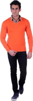 D.V. Saharan & Sons V-neck Solid Men's Pullover