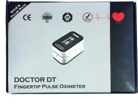 DYNOSURE Doctor+ Fingertip Pulse Oximeter(White, Black)