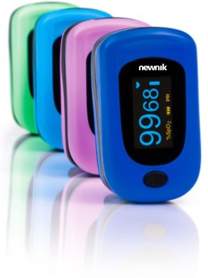 Newnik PX701 Audio-Visual Fingertip - Pink Pulse Oximeter