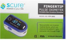 SCURE FTP1001 Pulse Oximeter