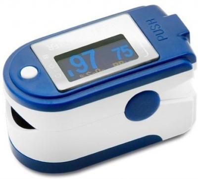 Contec CMS-50D Pulse Oximeter(Blue)