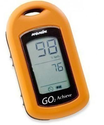 Nonin GO2 Pulse Oximeter(Orange, Blue)