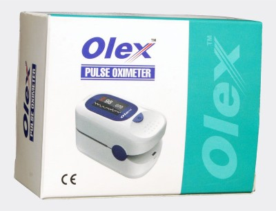 Olex Pulse Monitor Pulse Oximeter(White)
