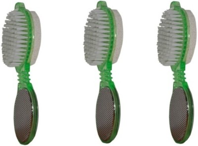AntiqueShop 4 in 1 Multifunctional Pedicure Kit Pack of 3 Green