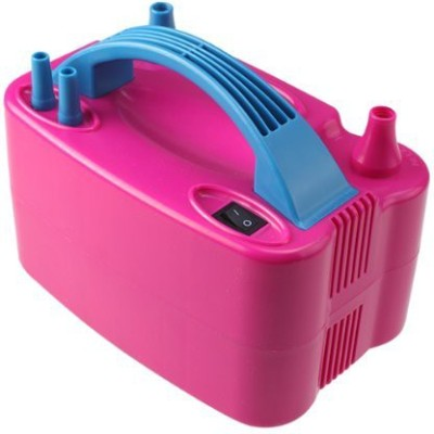 AGPtEK Portable Rose Red Two Nozzle High Power Air Blower Electric Balloon Inflator Pump For Party Balloon Pump