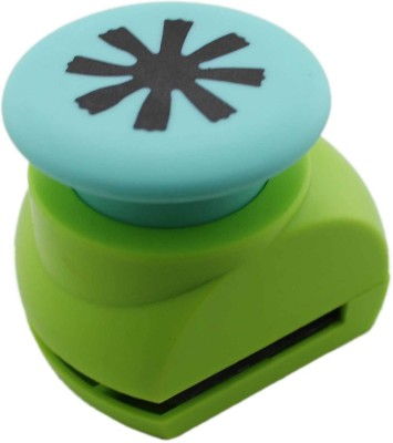 Tootpado Art Plastic Punches & Punching Machines(Set Of 1, Green)