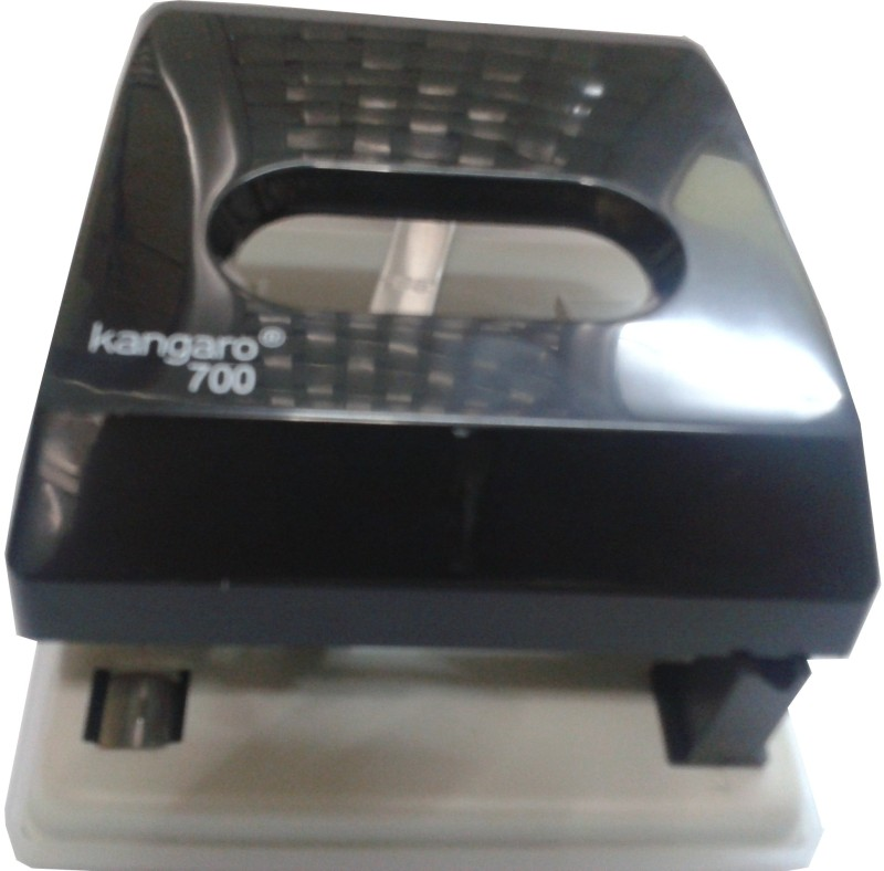 Kangaro Plastic and Metal Punches & Punching Machine(Black)