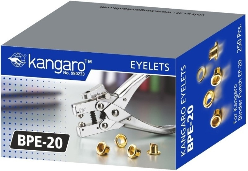 Kangaro Eyelets Metal Punches & Punching Machines(Set Of 1)