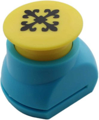 Tootpado Art Plastic Punches & Punching Machines(Set Of 1, Blue)