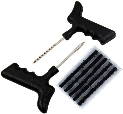 Auto Pearl Tubeless Tyre Tool Safety For Cars and Bikes Tubeless Tyre Puncture Repair Kit