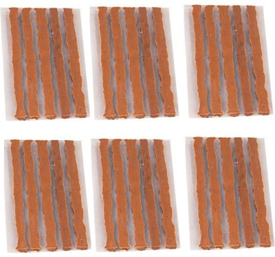 Kozdiko 30 Rubber Strips For Tubeless Tyre Puncture Repair Kit