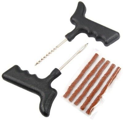 De AutoCare Car & Bike 5 Strip Plugs Tubeless Tyre Puncture Repair Kit