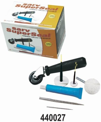 Sarv 440027 Tubeless Tyre Puncture Repair Kit