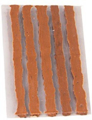 Auto Charisma 5 Rubber Strips For Tubeless Tyre Puncture Repair Kit