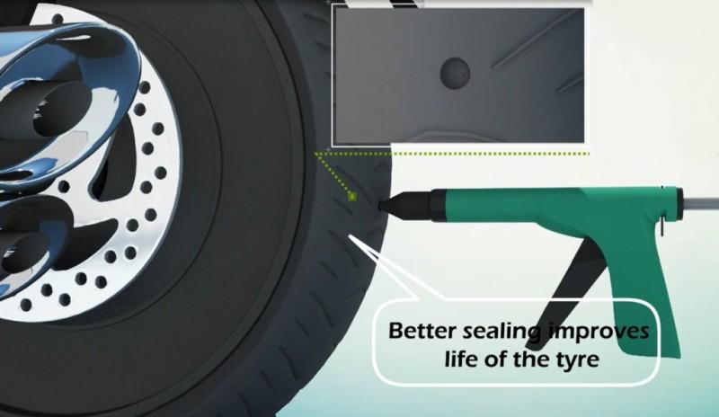 Grand Pitstop GPS-GUNCOMK001 Tubed Tyre Puncture Repair Kit