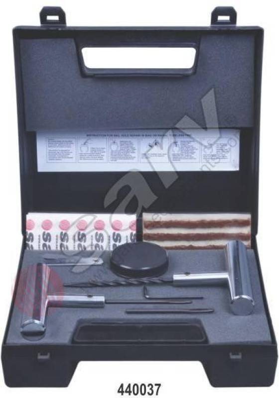 Sarv 440037 Tubeless Tyre Puncture Repair Kit