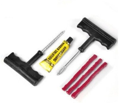 Bike World T-Puncher Kit Tubeless Tyre Puncture Repair Kit