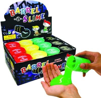 Lotus Barrel-O-Slime Multicolor Putty Toy