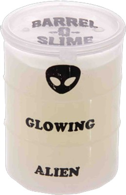 Switch Control Glowing Slime 3 inch bottle (1 pc) White Putty Toy