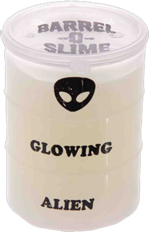 Switch Control Glowing Slime 3 inch bottle (set of 3) White Putty Toy