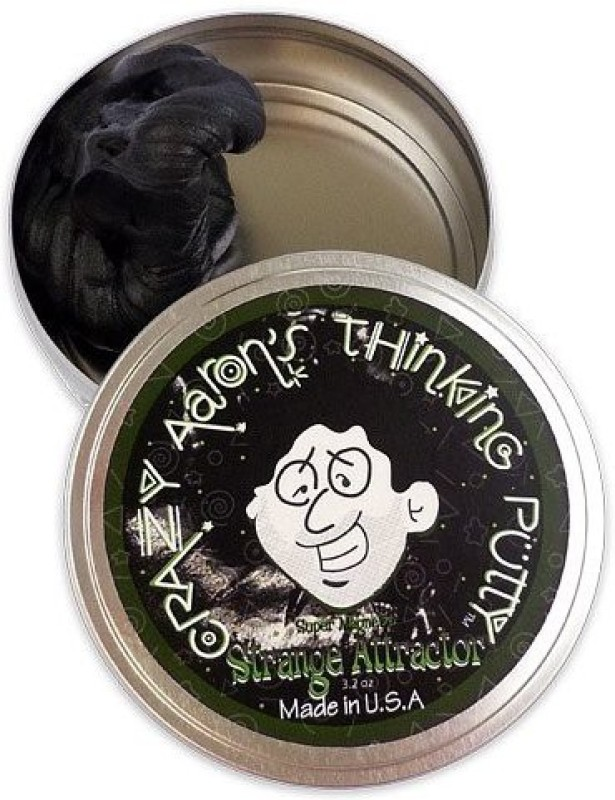 Crazy Aaron's Putty World ST020 Black Putty Toy