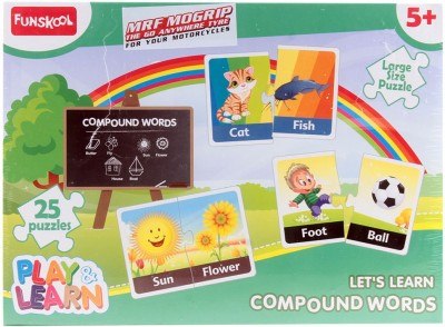 Funskool Let's Learn Compound Words Game - 25 Pieces