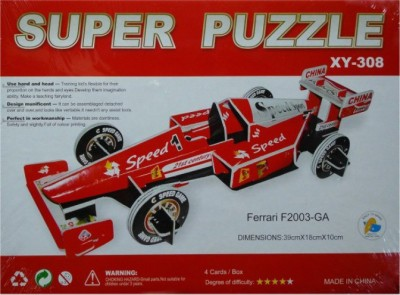 Rahul Toys 3d Puzzle In Formula Car