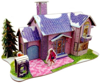 Lionsland Saving House 3D Puzzle