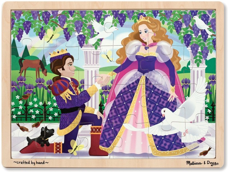 Melissa & Doug Princess Jigsaw(24 Pieces)