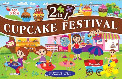 ART FACTORY 2 IN 1 CUPCAKE FESTIVAL