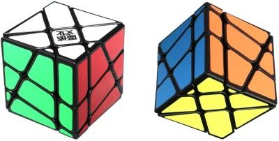 MoYu Crazy YiLeng Fisher Speed Magic cube Black