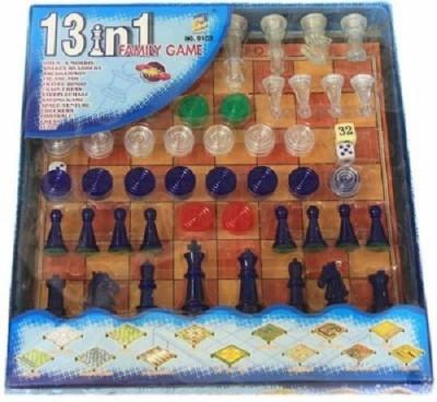 Khareedi 13 in 1 Family Games