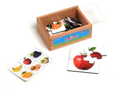 RK Cart RK Cart 6 Piece Puzzle -Fruits