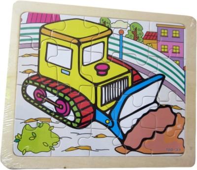 DCS DCS Vehicle Puzzle (7 X 7) IN