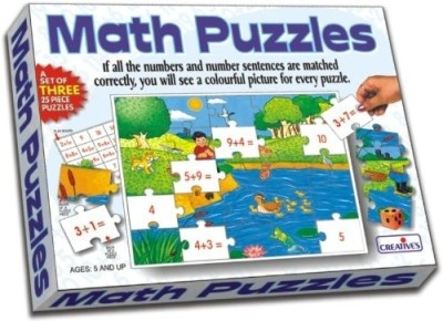 Creative Education Math Puzzles - Addition(30 Pieces)