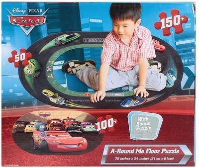 Disney Cars A-Round Me Floor Puzzle