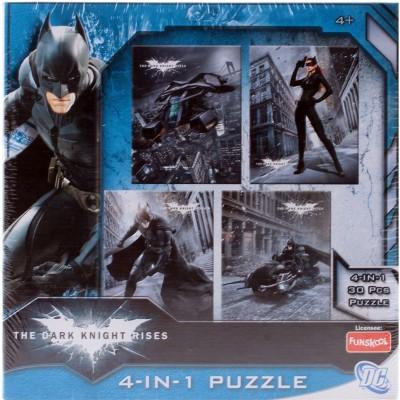 Funskool The Dark Knight Rises Batman 4-in-1 Puzzle