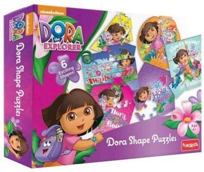 Funskool DORA SHAPE PUZZLES - 9403300