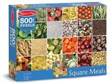 Melissa & Doug Square Meals Cardboard Ji...