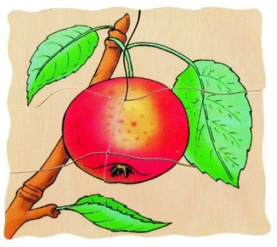 Beleduc Seed To Apple Five Layer Puzzle Byhape 5 Pieces  available at Flipkart for Rs.7977