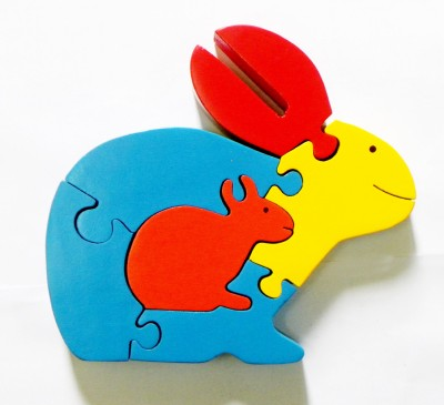 wood o plast Rabbit Jigsaw Puzzle