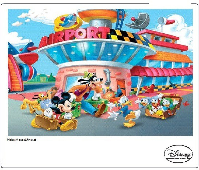 Frank Disney Mickey Mouse & Friends 200 Pieces(200 Pieces)