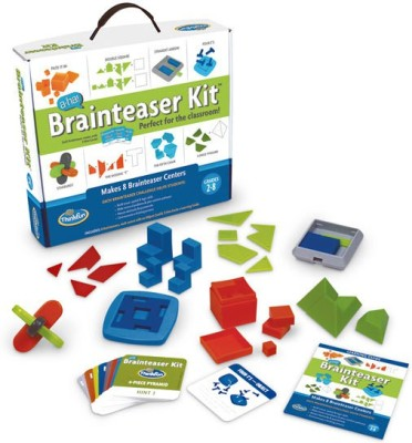 Thinkfun Aha! Brainteaser Kit