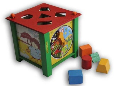 Luk Luck Educational Wooden Toy Multi Activity Box