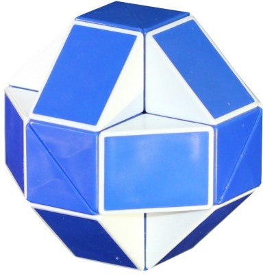 Shengshou Rubik's Snake Blue/White